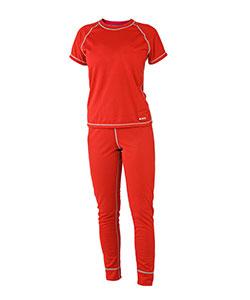 Dámské tričko krátký rukáv Coolbest červená
