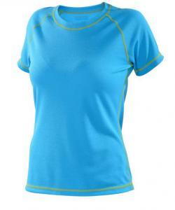 Dámské tričko krátký rukáv Coolbest tyrkys
