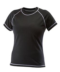 Dámské tričko krátký rukáv Coolbest černá