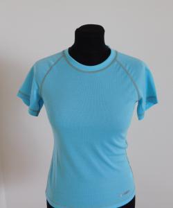 Dámské tričko krátký rukáv Coolbest světlý tyrkys
