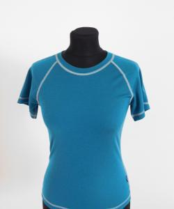 Dámské tričko krátký rukáv Coolbest tmavě zelená
