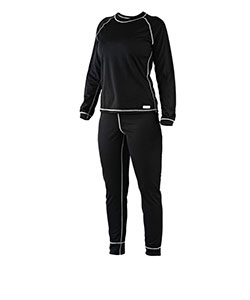 Dámské tričko dlouhý rukáv Coolbest černá
