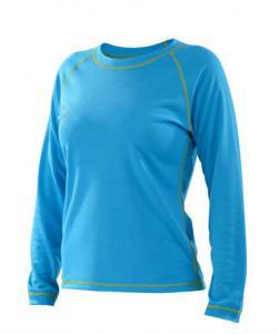 Dámské tričko dlouhý rukáv Coolbest tyrkys