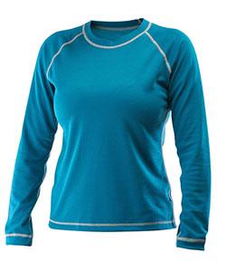 Dámské tričko dlouhý rukáv Coolbest tmavě zelená
