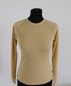 Dámské tričko dlouhý rukáv Coolbest béžová