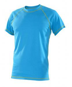Pánské tričko krátký rukáv Coolbest tyrkys