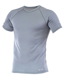 Pánské tričko krátký rukáv Coolbest šedá