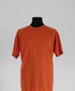 Pánské tričko krátký rukáv Coolbest cihlová
