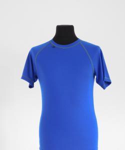 Pánské tričko krátký rukáv Coolbest středně modrá