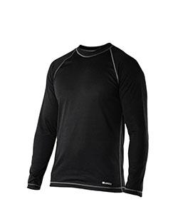 Pánské tričko dlouhý rukáv Coolbest černá