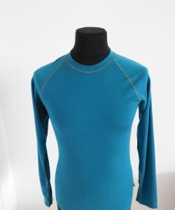 Pánské tričko dlouhý rukáv Coolbest tmavě zelená
