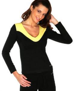 Dámské tričko Josefína žlutá