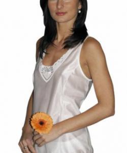 Dámská košilka Stela bílá