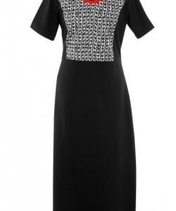 Dámské šaty Aneta černobílá