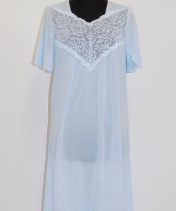 Dámská noční košile Svatava světle modrá