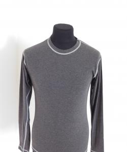 Pánské tričko dlouhý rukáv Freshguard šedá-bez loga