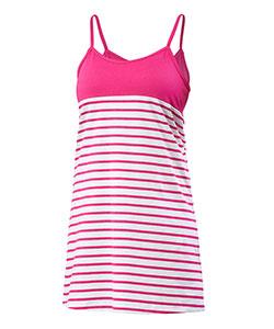 Dámské šaty Janča růžový proužek