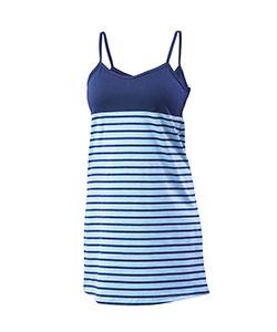 Dámské šaty Janča modrý proužek