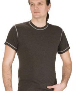 Pánské tričko krátký rukáv Freshguard šedé melé