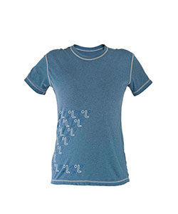Dámské tričko krátký rukáv Freshguard modrá