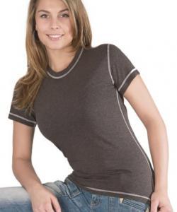 Dámské tričko krátký rukáv Freshguard šedé melé