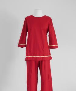 Dámské pyžamo Eva červená
