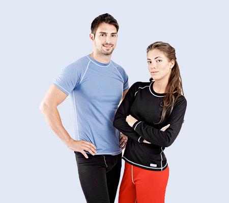 Funkční prádlo pro sport, volný čas a běžné nošení