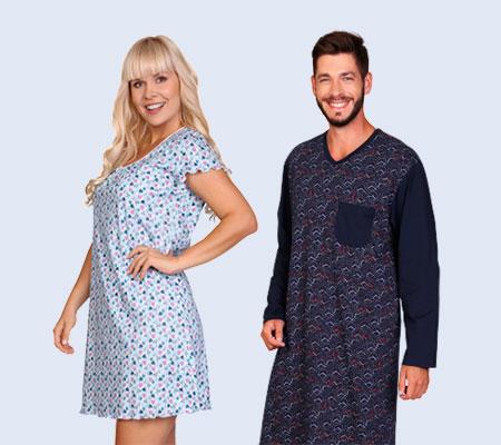 Český výrobce nočních košil a pyžam
